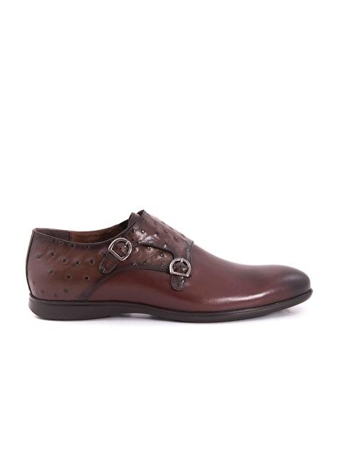Mocassini %100 Deri Klasik Ayakkabı Kahve